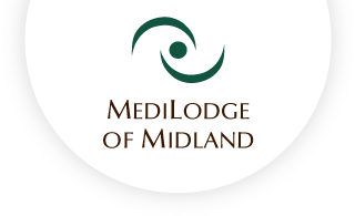 Medilodge of midland web logo